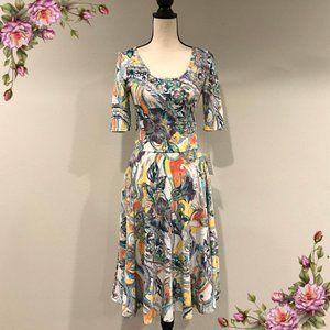 LuLaRoe Nicole floral dress